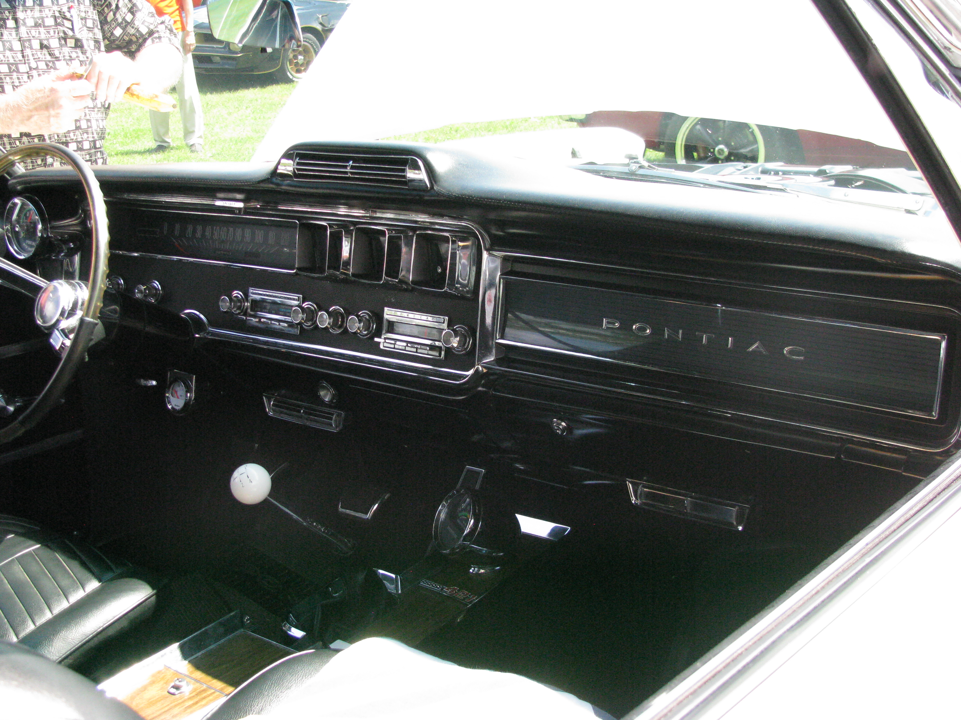 View photo of 1966 Pontiac 2+2 Dashboard - 3,567KB