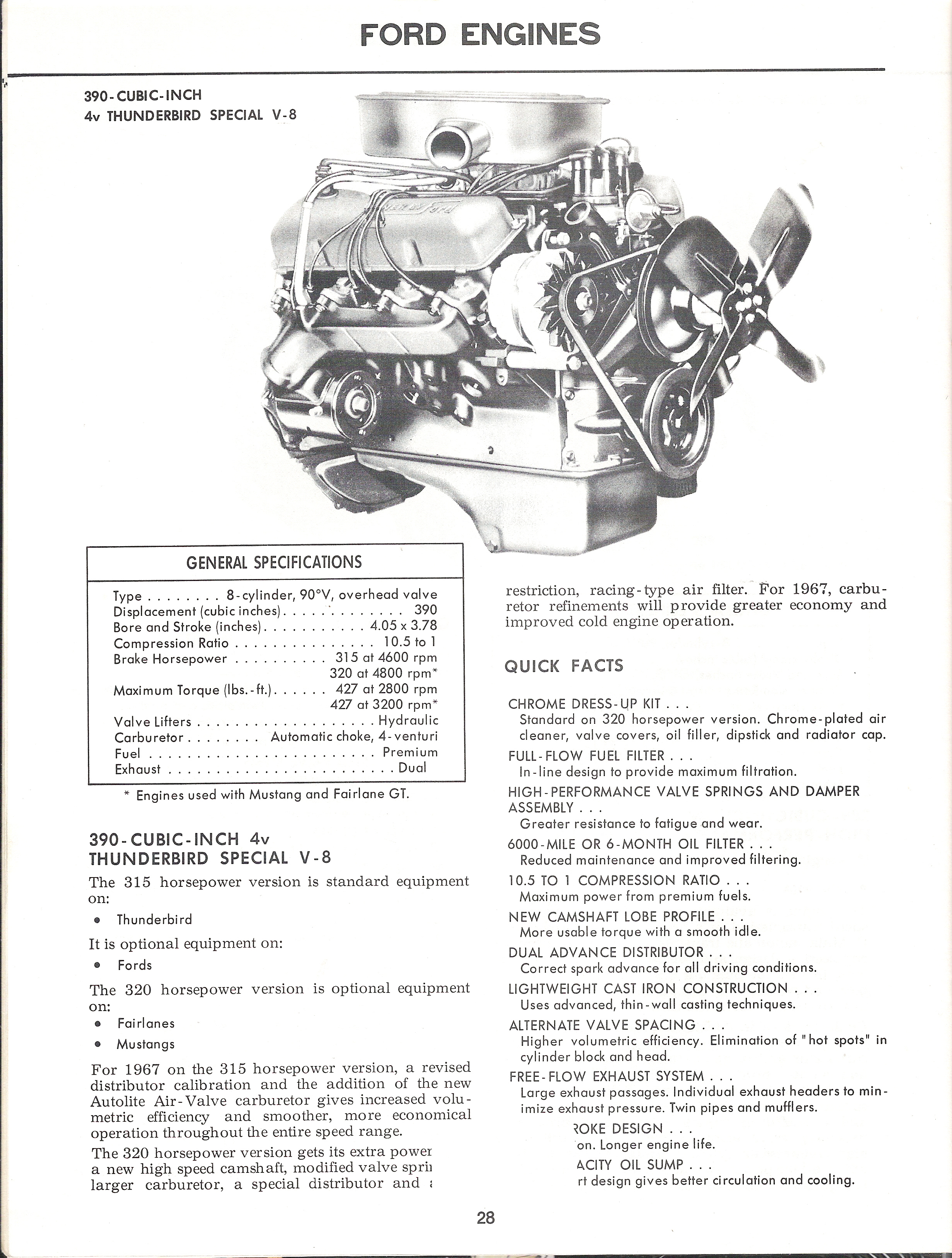67 ford mustang illustrated facts book