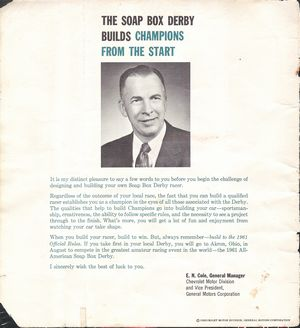 Sports Motorsports Auto Racing Soap  Derby on All American Soap Box Derby 1961 Official Rule Book   The Crittenden