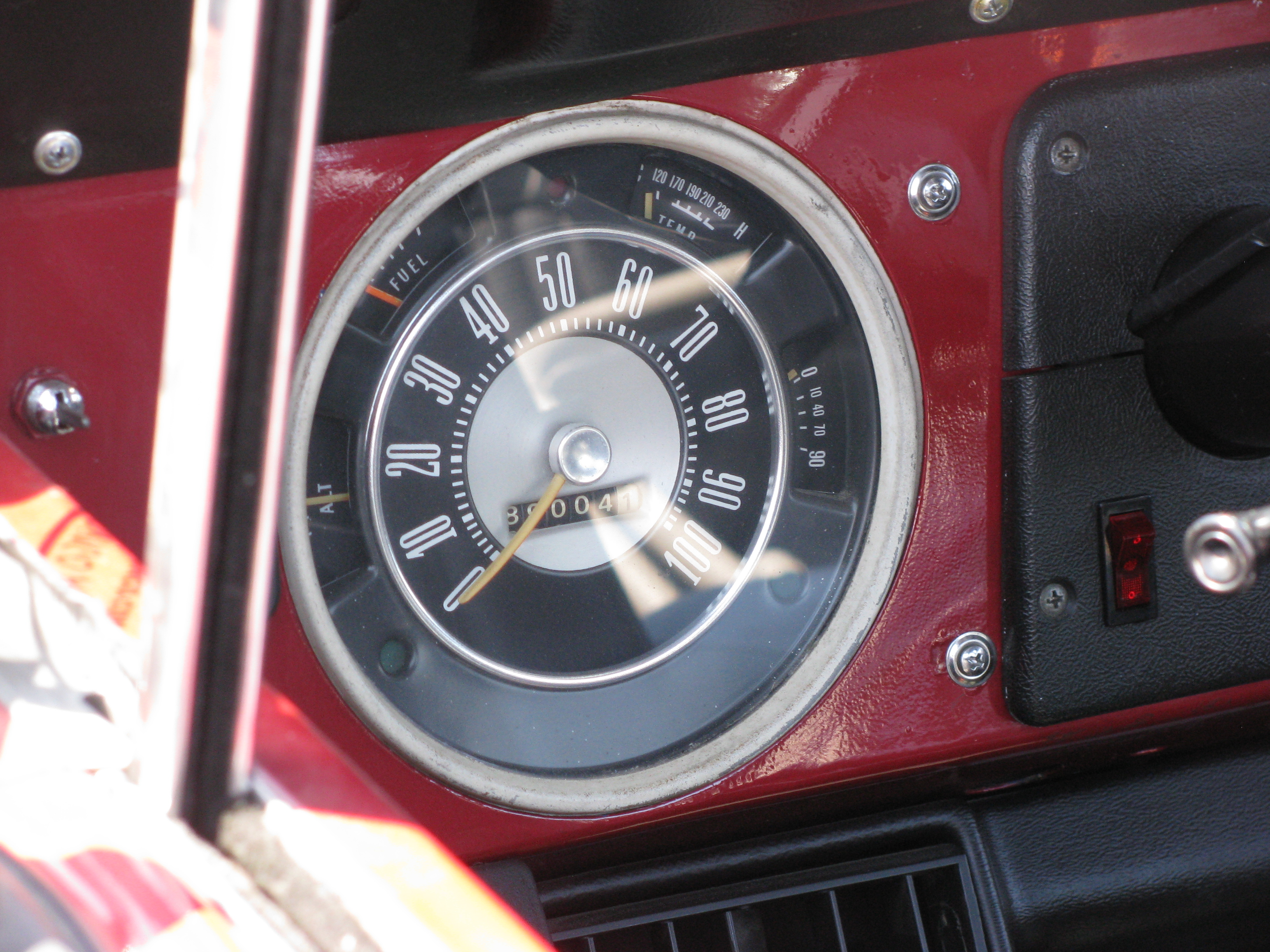 Ford Bronco The Crittenden Automotive Library 1980 Gauges View Photo Of 3365kb