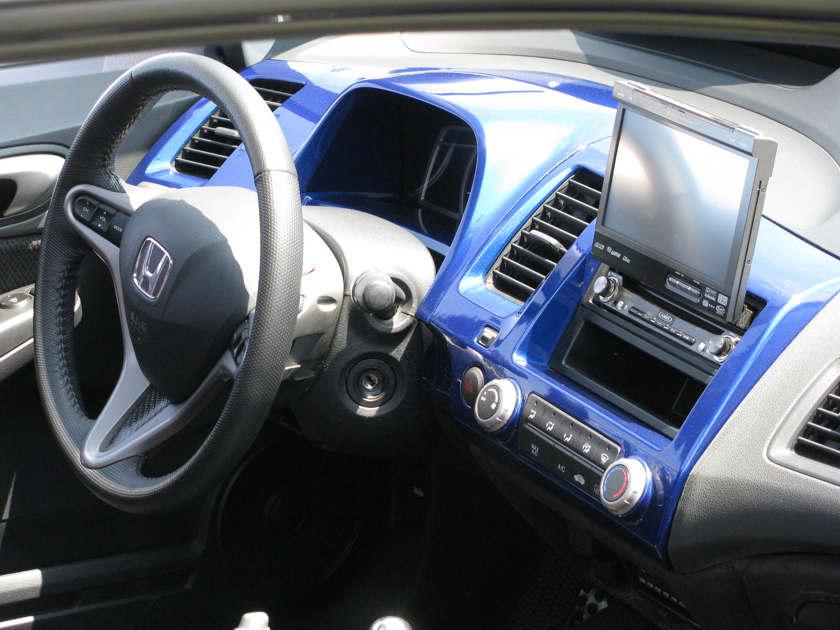 2004 honda civic si interior