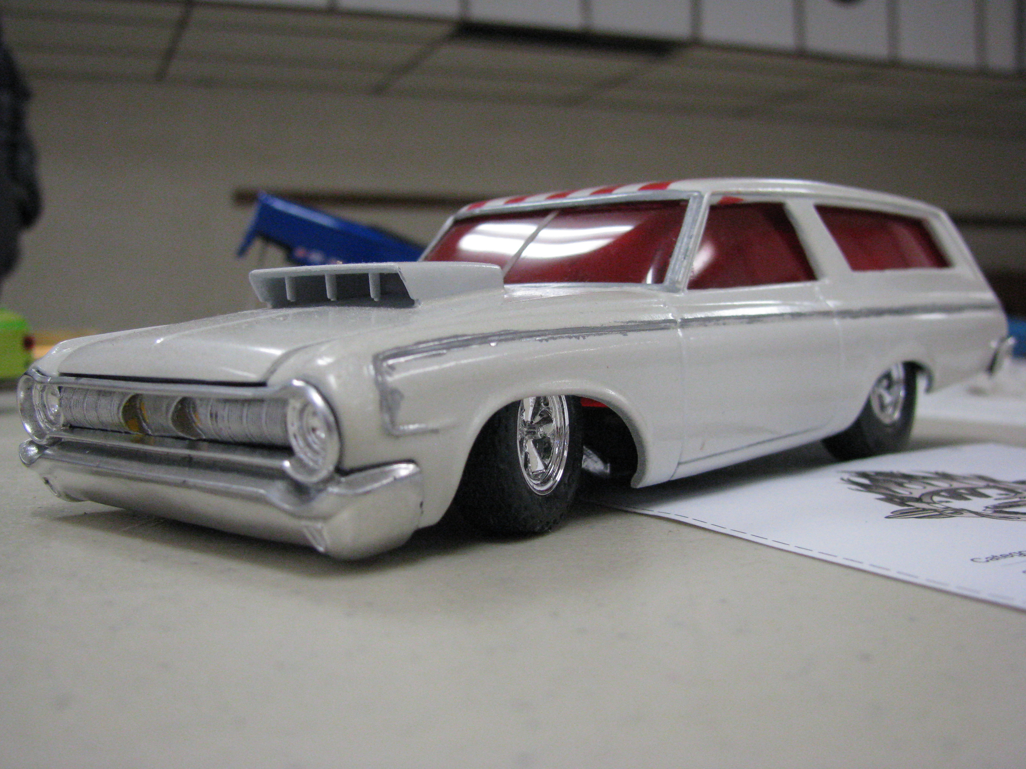 View photo of 1963 Dodge Station Wagon Model - 2.1MB