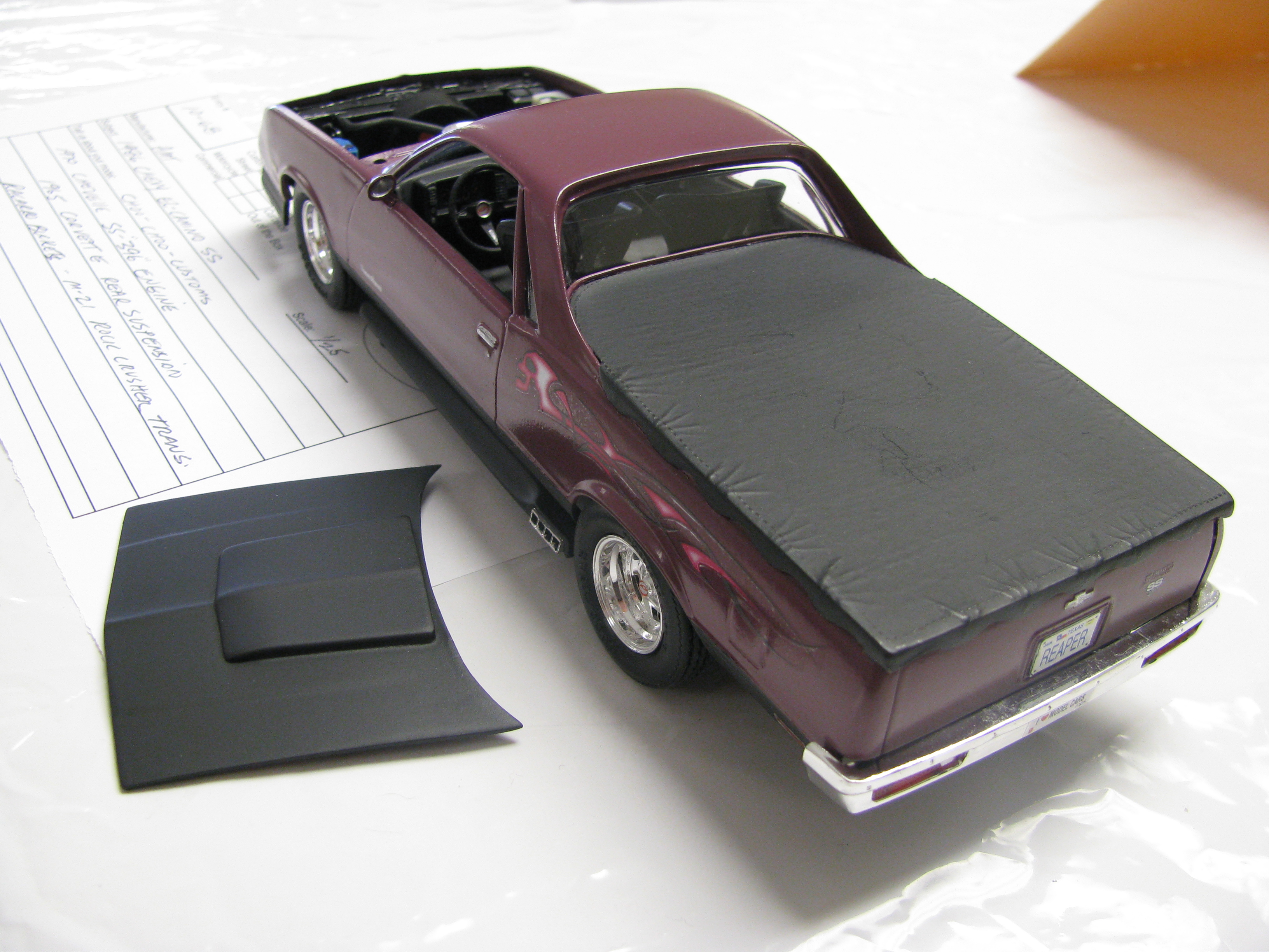 Chevrolet El Camino The Crittenden Automotive Library 1957 Ss View Photo Of Modified 1986 Model