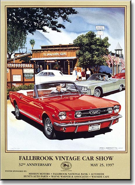 Seems vintage ford mustang art remarkable, very
