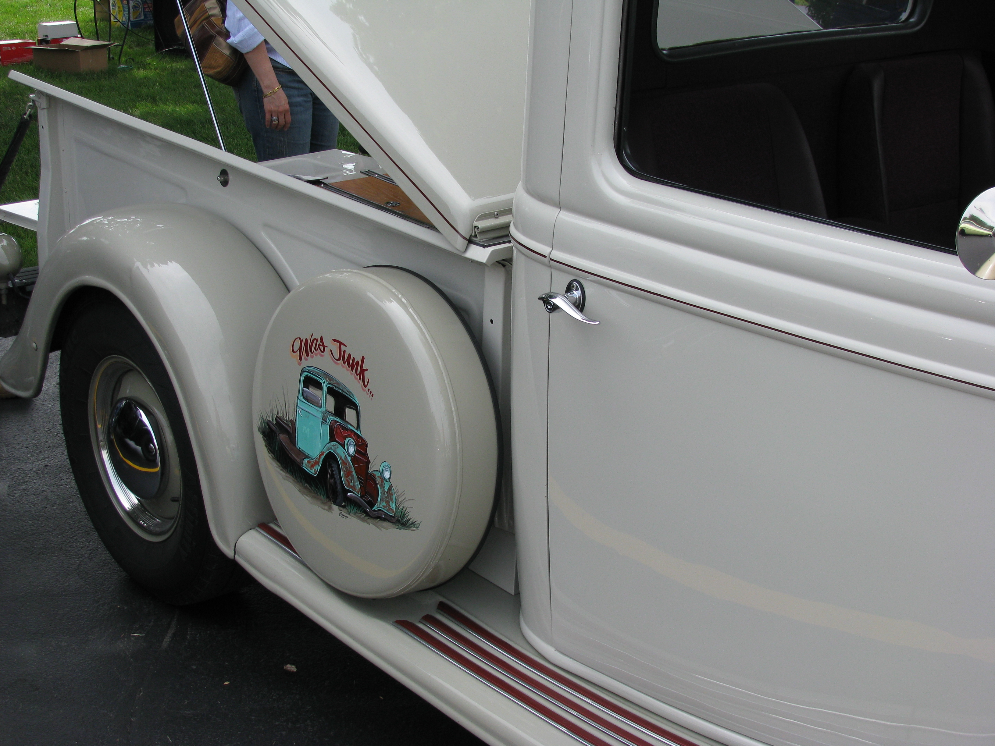 Ford Hot Rod Pickup Truck
