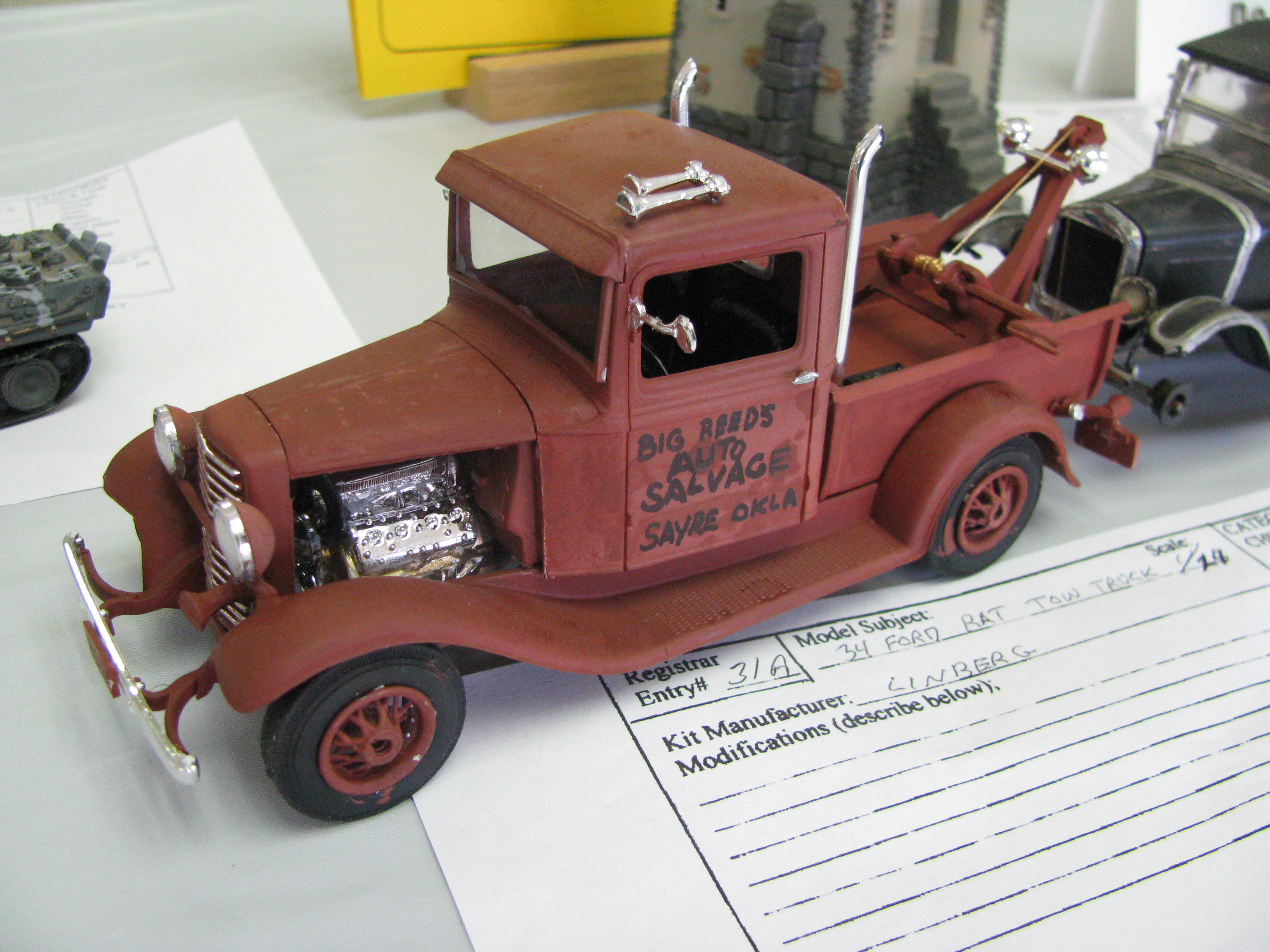 1934 Ford Rat Rod Tow Truck