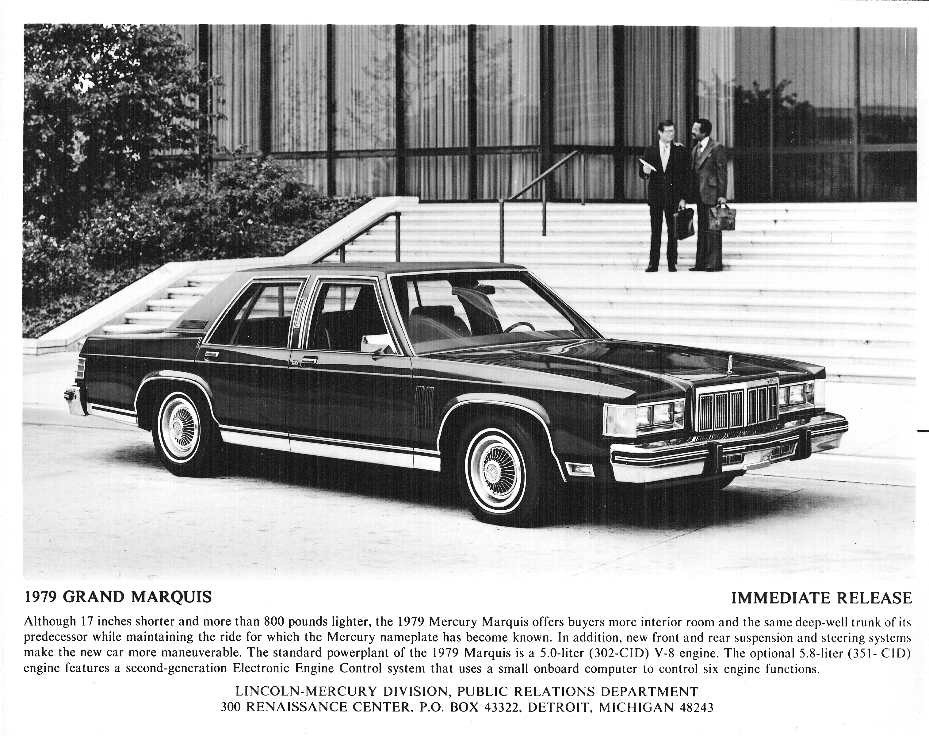 Mercury Grand Marquis  The Crittenden Automotive Library