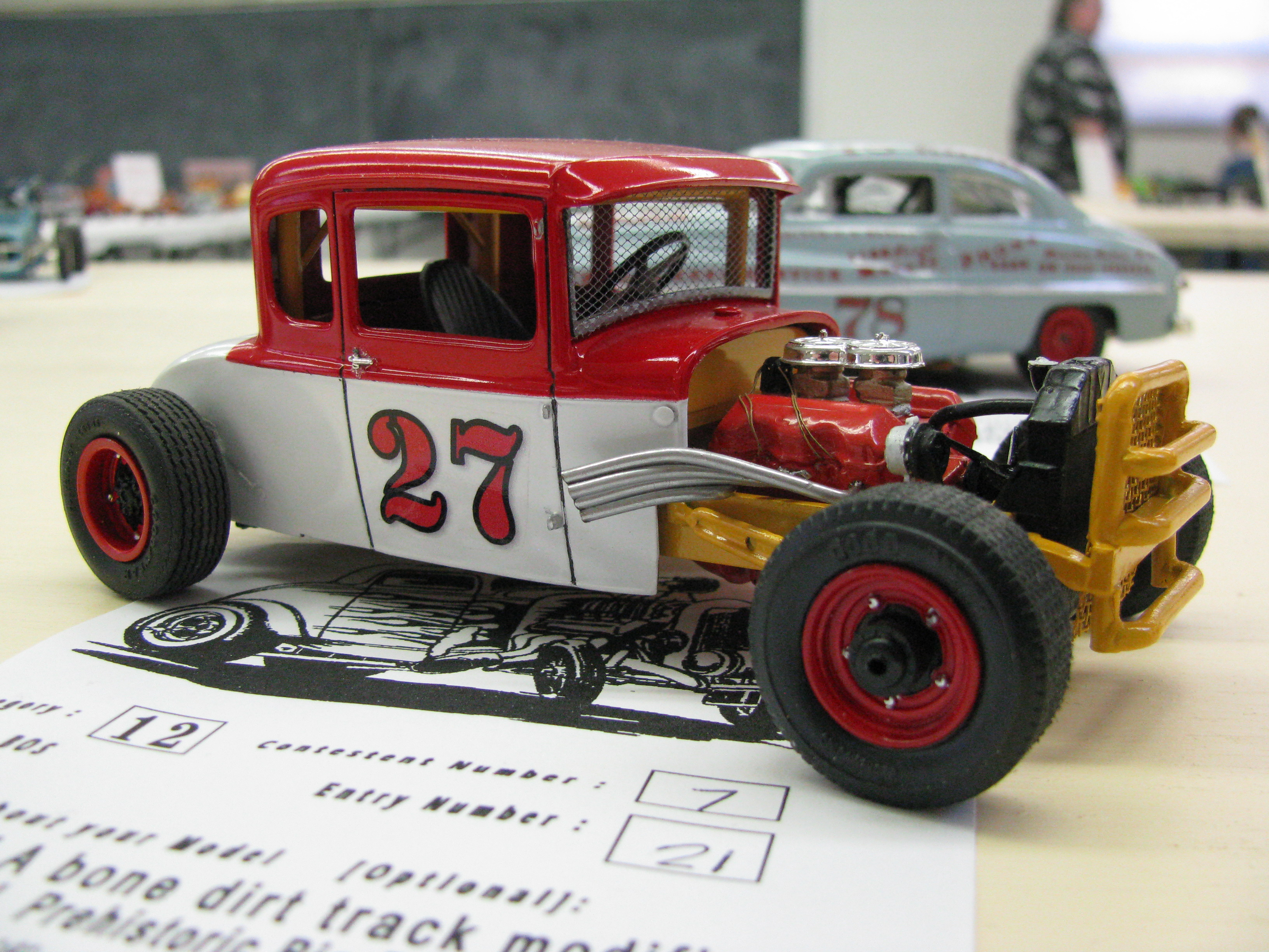 2012 Cedarville Model Car Contest and Swap Meet Photographs - The