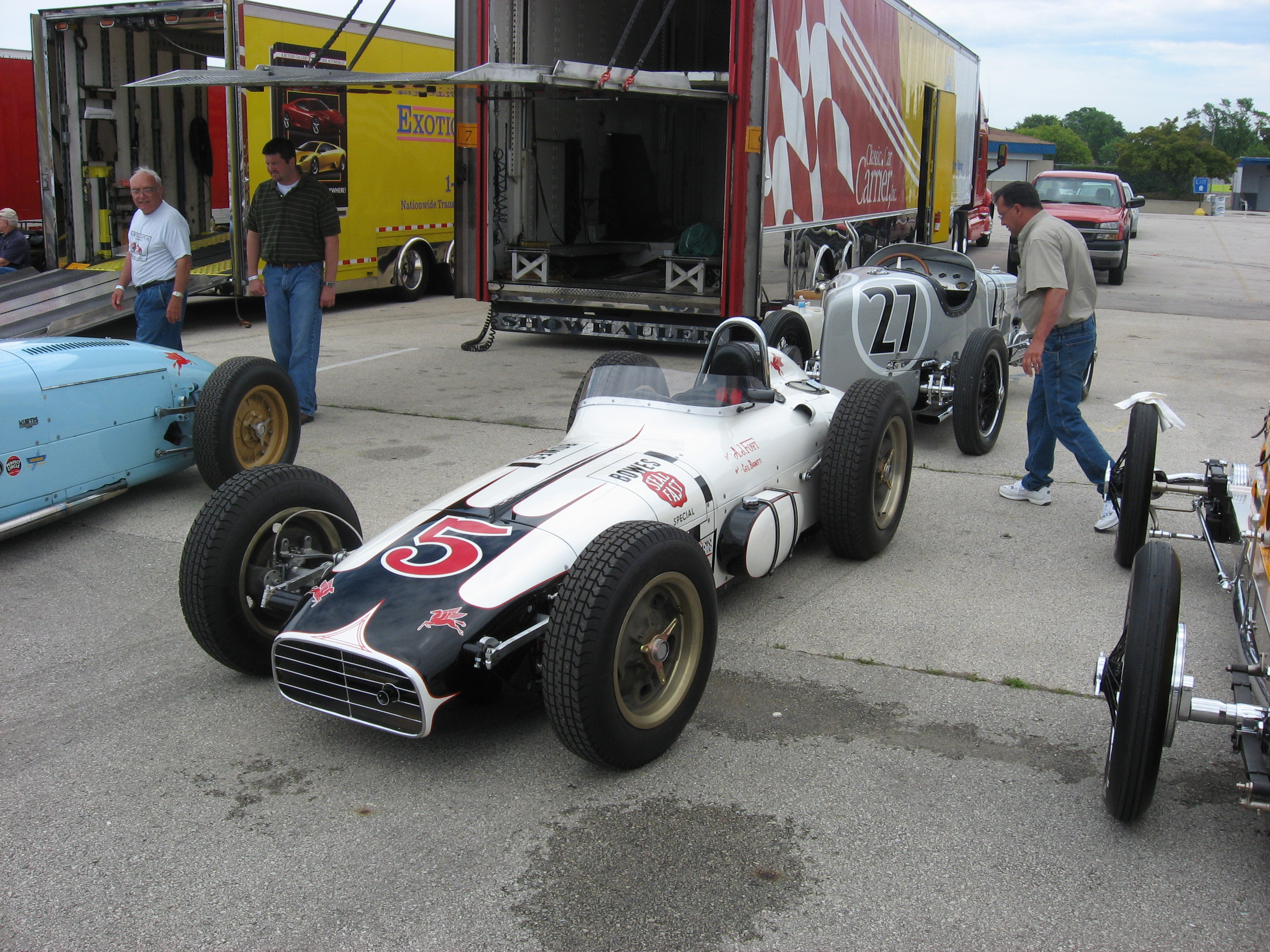 2008 Millers at Milwaukee Vintage Indy Car Event Photographs - The ...