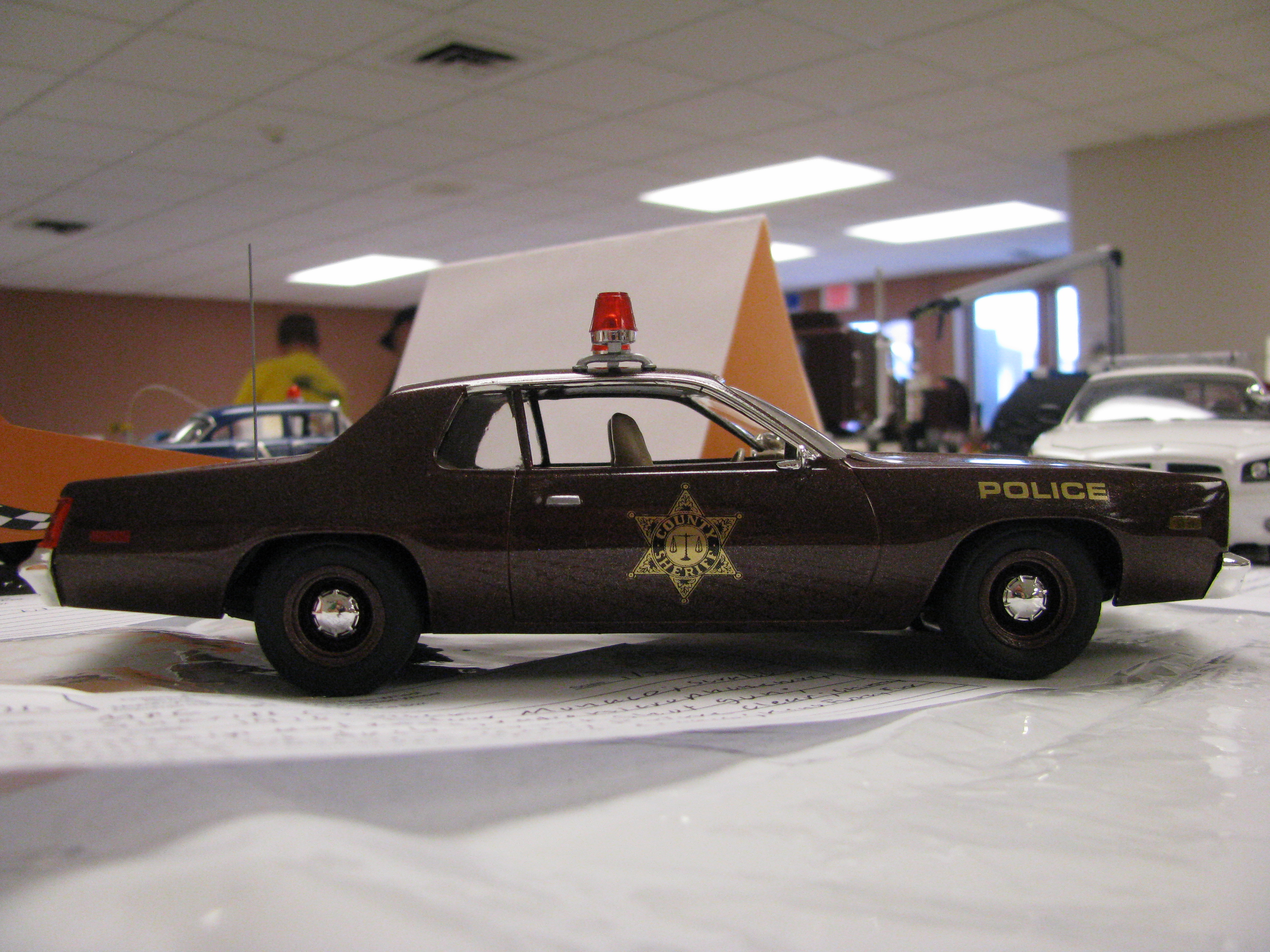 Dodge Monaco The Crittenden Automotive Library 1964 Police Car View Photo Of 1976 County Sheriff Model