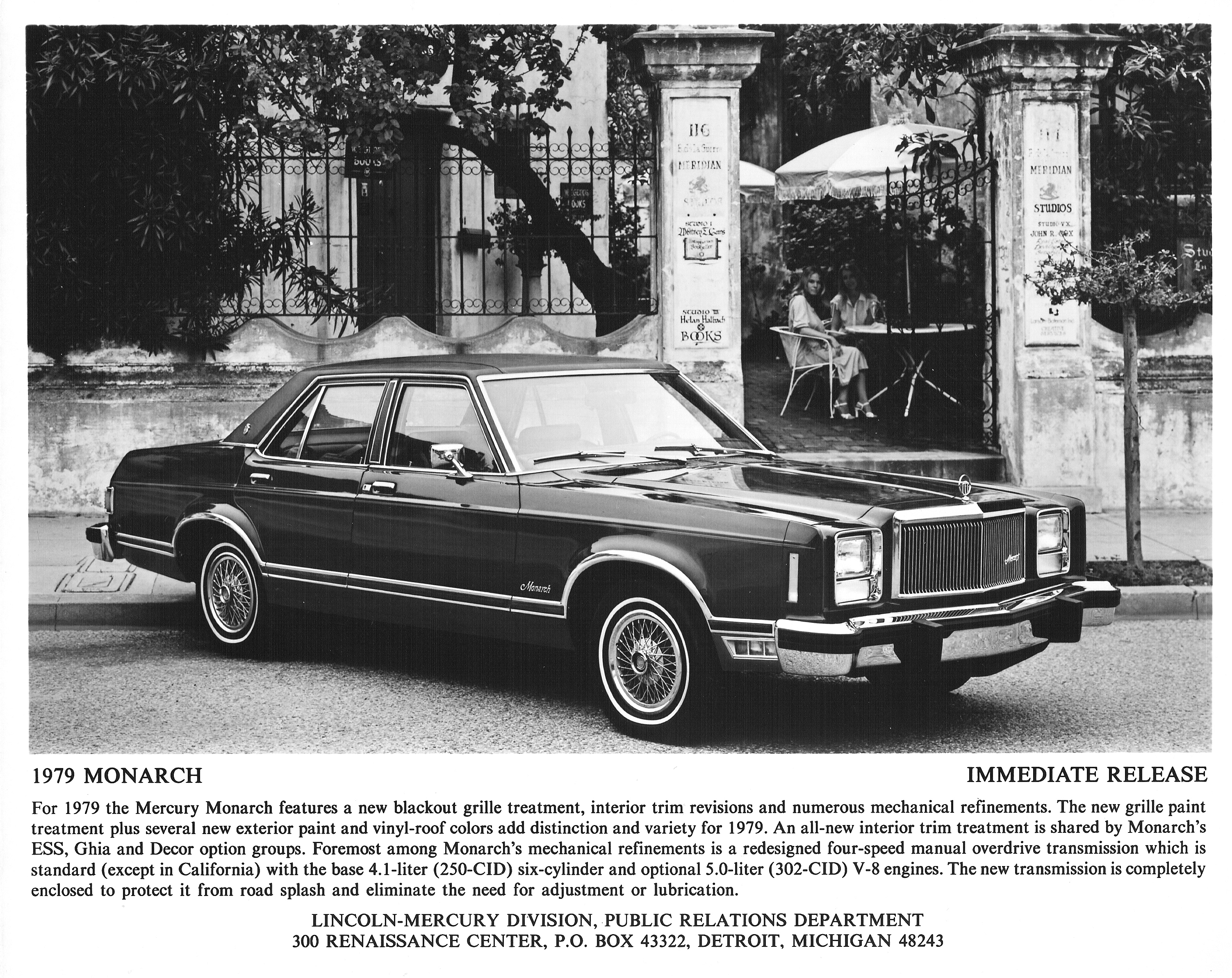 1979 Ford Lincoln Mercury Lineup The Crittenden