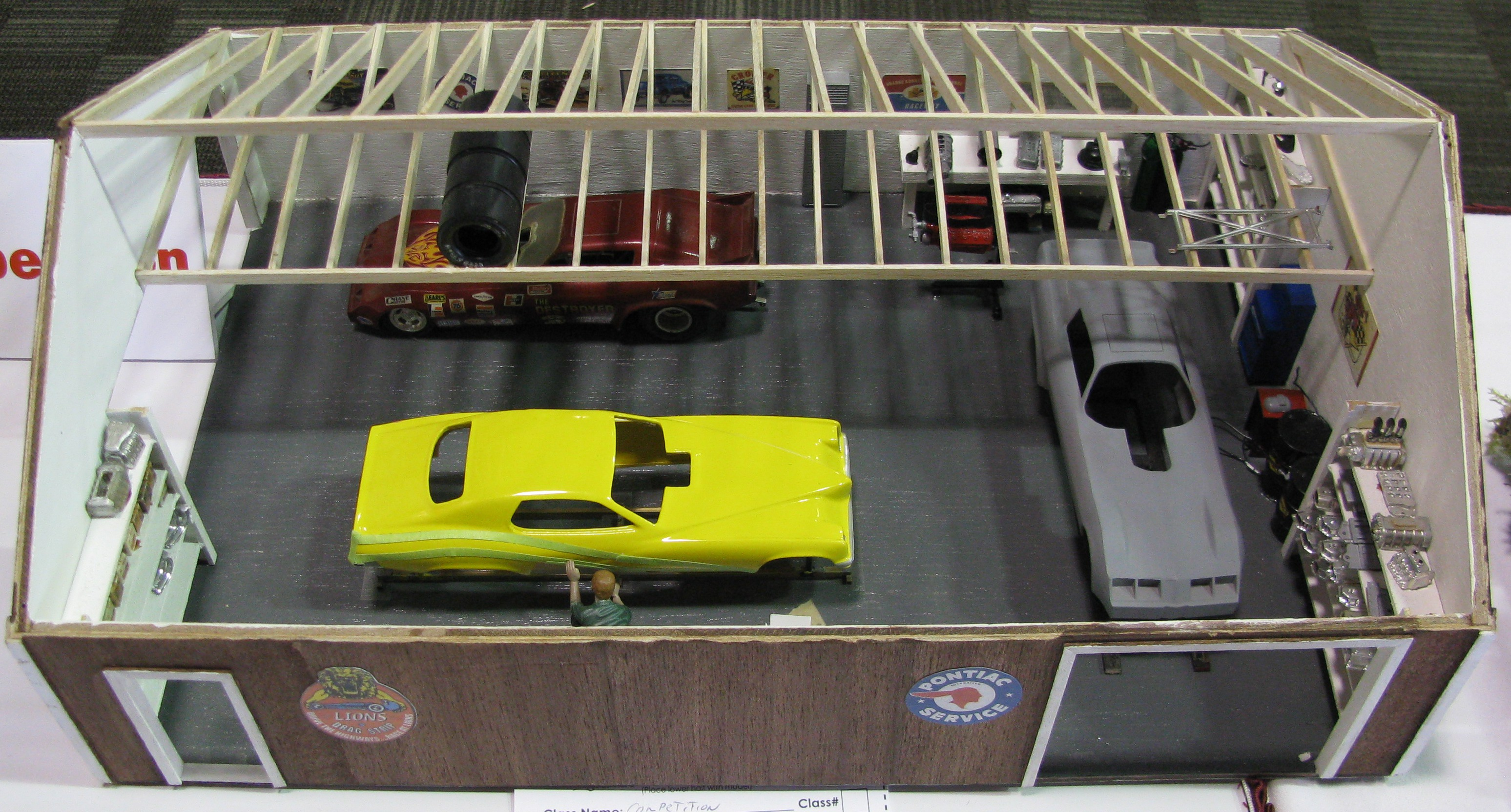 Model Car Garage Kit Model Car Diorama Garage Kits
