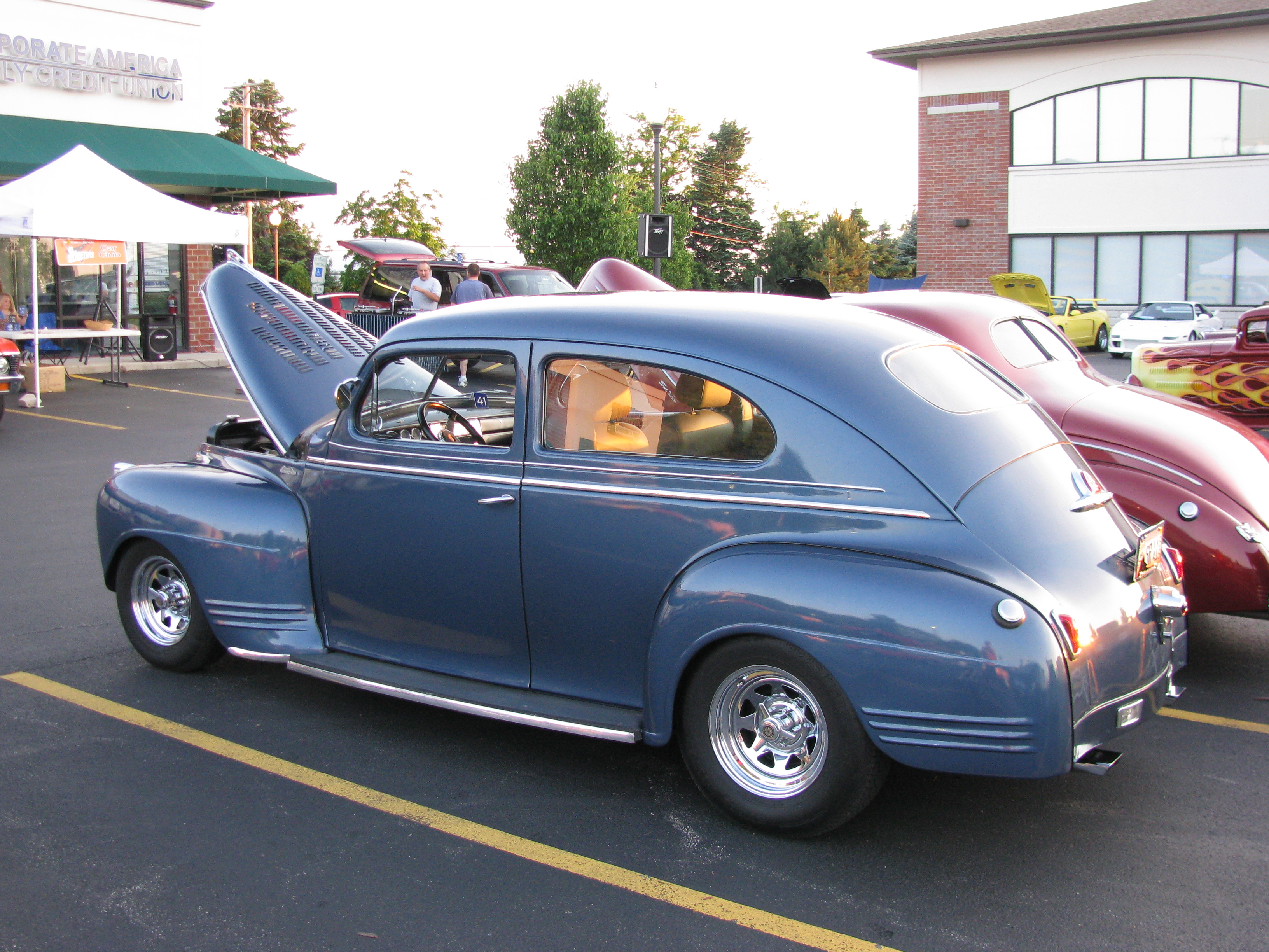 Plymouth Special Deluxe The Crittenden Automotive Library 1941 4 Door Sedan View Photo Of Street Rod