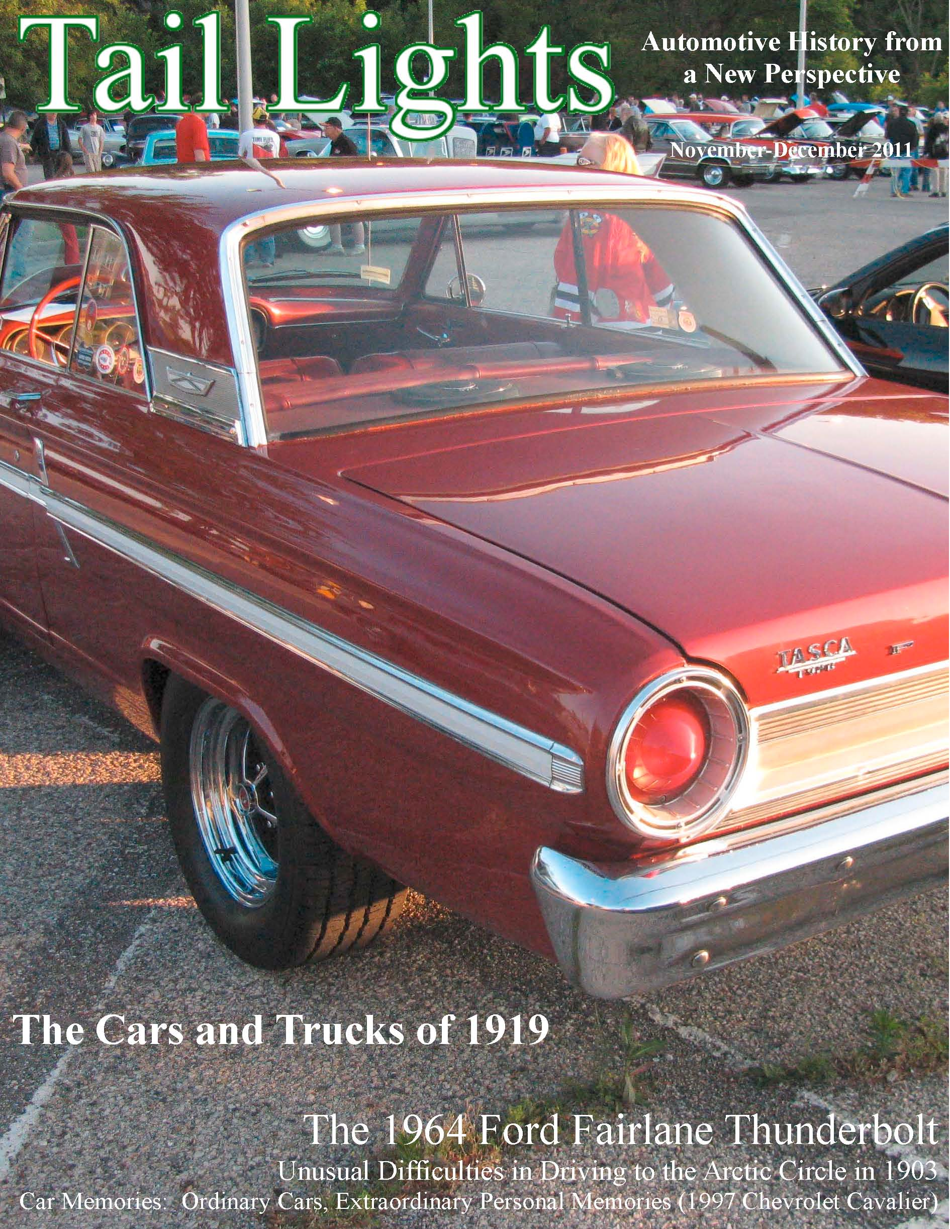 Ford Thunderbolt The Crittenden Automotive Library 1964 Fairlane Bucket Seats View Tail Lights Cover 478kb