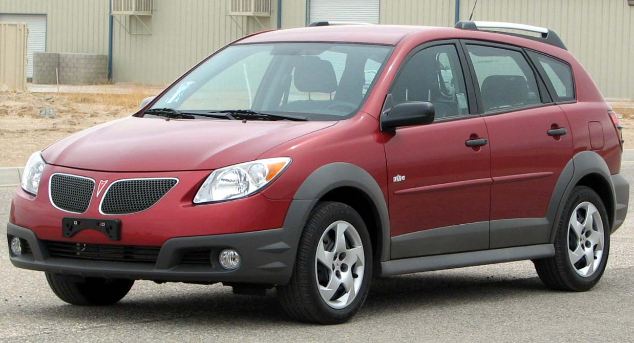 Pontiac Vibe - The Crittenden Automotive Library