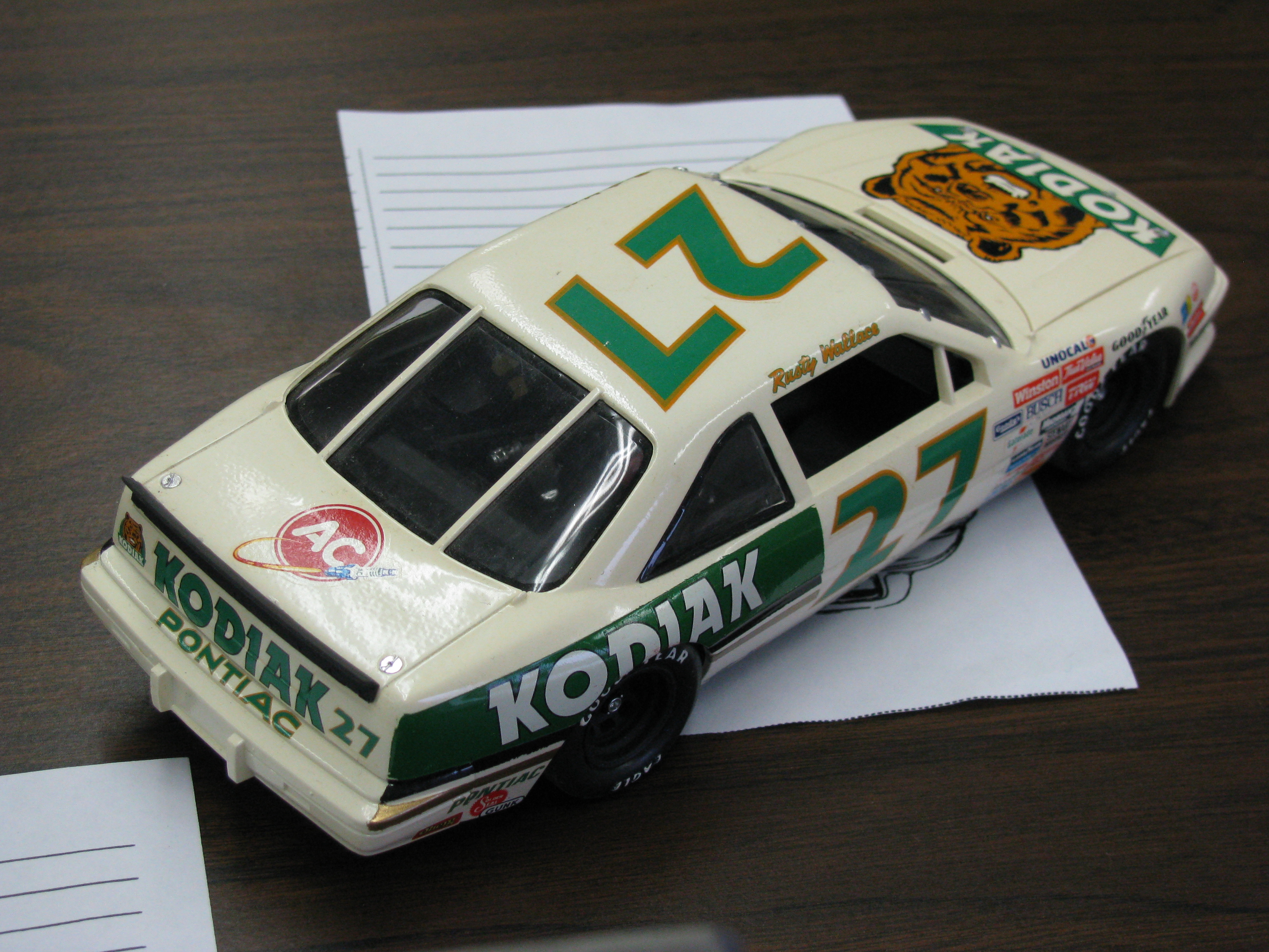 2009 Cedarville Model Car Contest and Swap Meet graphs The